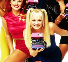 1 - 2 - 3 - 4 - 5 SPICE GIRLS! Sticker