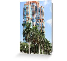 High rise. Greeting Card