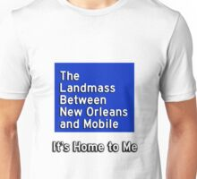 The Landmass Between New Orleans and Mobile 2 Unisex T-Shirt