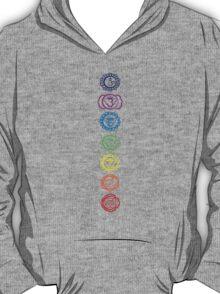seven chakra symbols T-Shirt