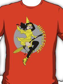 Hufflepuff Pin Up Witch T-Shirt