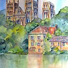 Durham Cathedral by bevmorgan