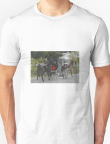 Getting the New Horse Home Unisex T-Shirt