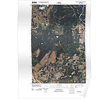 USGS Topo Map Washington State WA Tenalquot Prairie 20110405 TM Poster