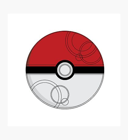 Pokeball Photographic Print