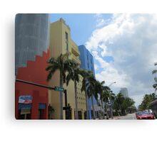 Architecture, Miami. Canvas Print