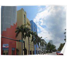 Architecture, Miami. Poster