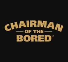 Chairman Of The Bored (Yellow) Kids Clothes