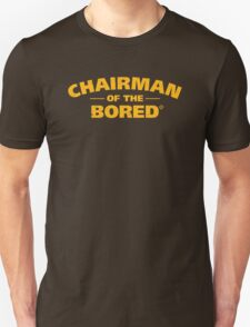 Chairman Of The Bored (Yellow) T-Shirt