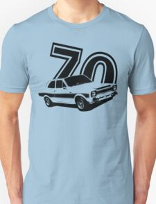 Escort 70' Retro Classic Cars Men's T-shirt Unisex T-Shirt