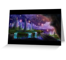 The Night the Stars Were Released Greeting Card