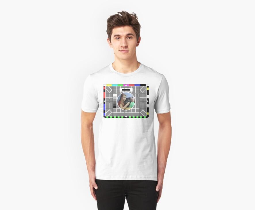 Test Card F T-Shirt by MapleGLaDOS