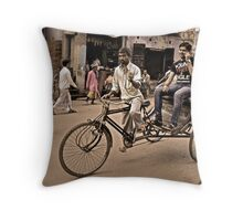 Young, Free & Single Throw Pillow