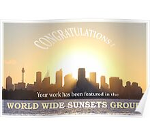 Feature banner World Wide Sunsets Group Poster