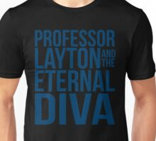 Professor Layton & The Eternal Diva Unisex T-Shirt