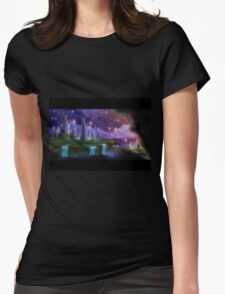 The Night the Stars Were Released Womens Fitted T-Shirt