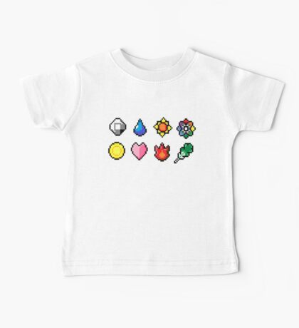 Indigo League Badges Baby Tee