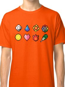 Indigo League Badges Classic T-Shirt