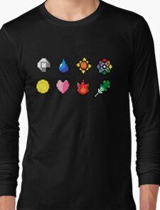 Indigo League Badges Long Sleeve T-Shirt