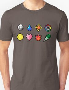 Indigo League Badges T-Shirt
