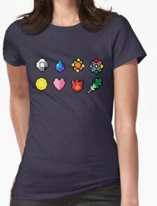Indigo League Badges Womens Fitted T-Shirt