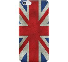 Grunge Union Jack iPhone Case/Skin
