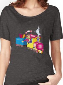 train and car Women's Relaxed Fit T-Shirt
