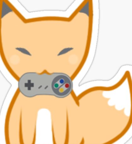 GamerFox Sticker