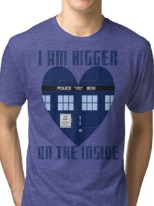 Bigger on the Inside Tri-blend T-Shirt