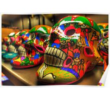 Day of the Dead Skulls Poster
