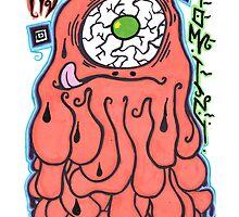 Percentum Comic Monster by PercentumDesign