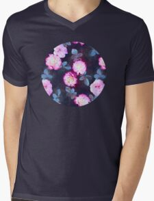 Twilight Roses Mens V-Neck T-Shirt