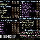 The Mile-High Cup Menu by Krystal Frazee