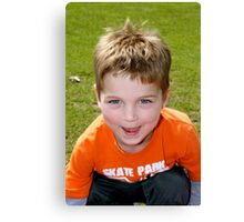 Blue Eyed Boy Canvas Print