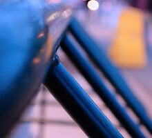 Bike Rack Bokeh by PopPopPhoto