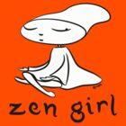 zen girl by blackbirdsong