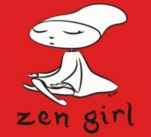 zen girl Kids Tee