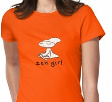 zen girl Womens Fitted T-Shirt