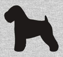 Soft Coated Wheaten Terrier Silhouette by Jenn Inashvili
