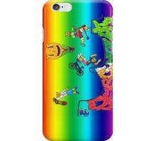 Percentum Xtreme Sports (rainbow) iPhone Case/Skin