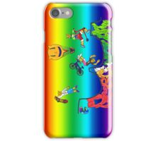 Percentum Xtreme Sports (rainbow) iPhone Case/Skin
