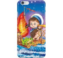 Brave sailor  iPhone Case/Skin