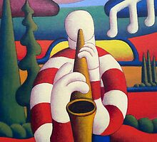 The Sax Player by Alan Kenny