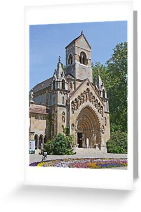Jak Church, Budapest by Graeme  Hyde