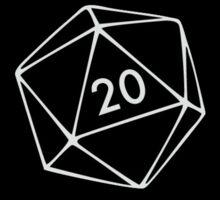 Neutral Evil Character Alignment d20 Sticker