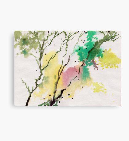 Trees N Colors Canvas Print