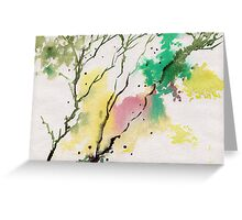 Trees N Colors Greeting Card