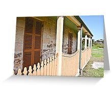 South Head - Lighthouse keeper cottage Greeting Card