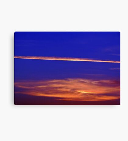 Abstract Sky Canvas Print