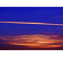 Abstract Sky Photographic Print